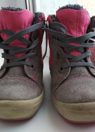 Зимние ботинки superfit