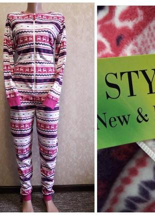 Кигуруми пижама, комбинезон флис