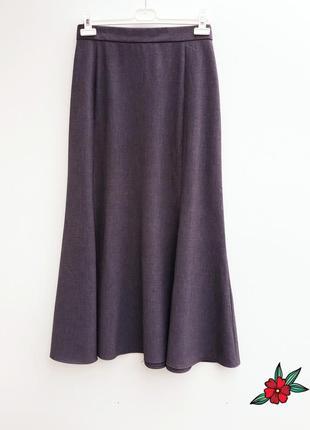 Супер юбка миди осенняя юбка миди 14-16 размер