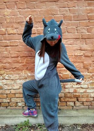 ... Пижама кигуруми волчица f8a4310a4eba6