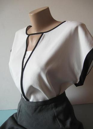 Элегантная блуза - минимализм - институт, офис!