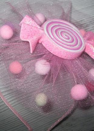 Обруч-цукерка , хлопавка , ободок -конфетка , хлопушка