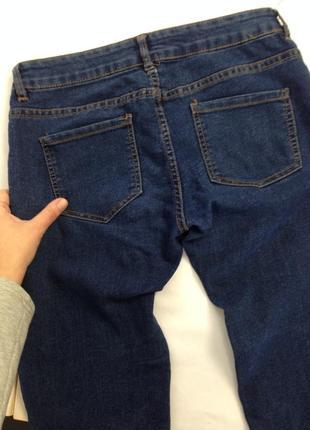 Якісні темно-сині джинси pull and bear3 фото
