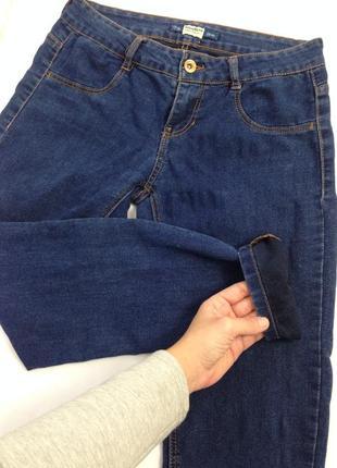 Якісні темно-сині джинси pull and bear4 фото