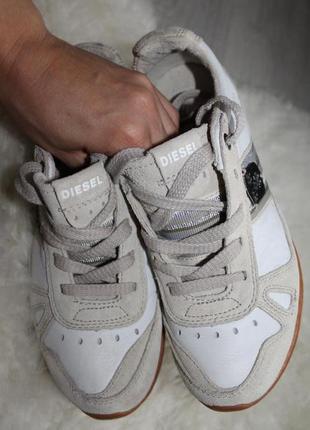 Продам оригинальные,кожаные кроссовки от фирмы diezel