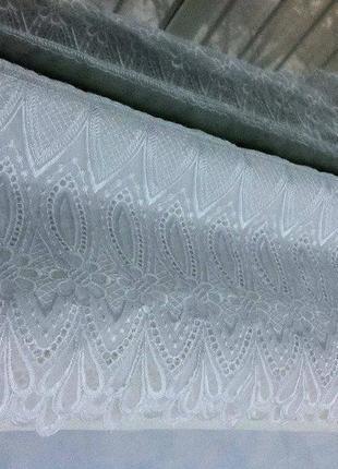 Белая полупрозрачная штора. шторы. шторка. портьера. портьеры. гардина. занавеска.3