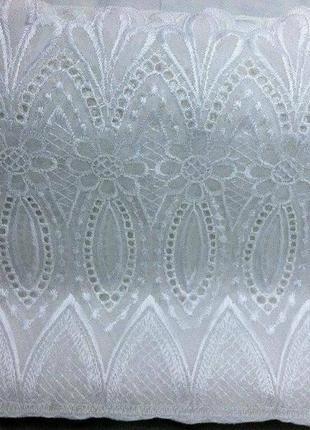 Белая полупрозрачная штора. шторы. шторка. портьера. портьеры. гардина. занавеска.4