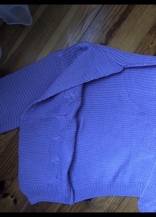 Пуловер,кардиган тёплый3
