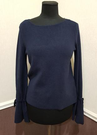 Синий свитер vero moda