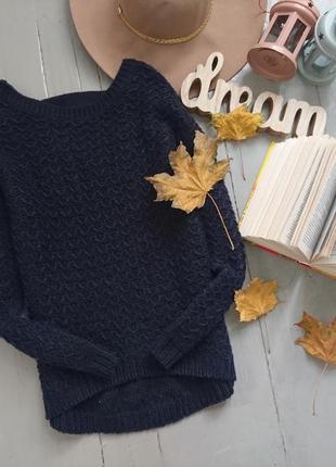 Актуальный свитер джемпер с интересной спинкой №93