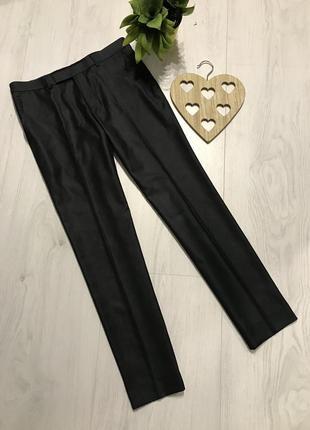 Классические молодежные узкие прямые брюки, s-m