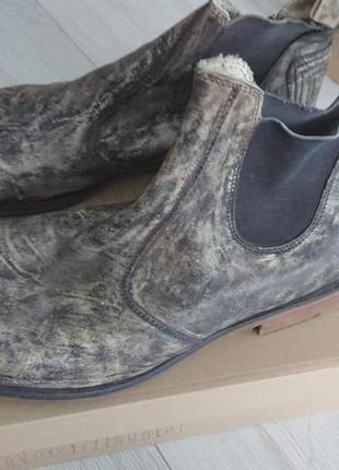 Мужские ботинки 45 размер vero cuoio