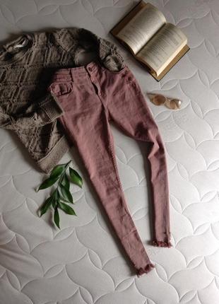 Джинсы женские,джинсы рваные внизу,джинсы рваные
