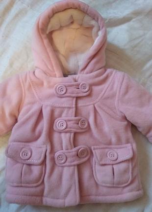 Куртка на дівчинку 1-3 місяці