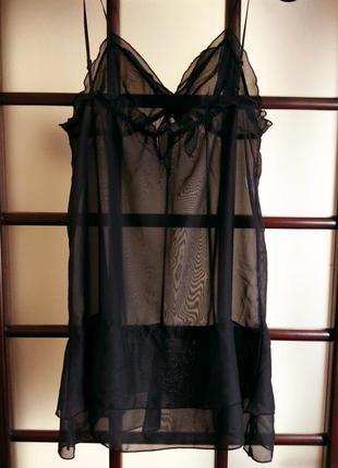 Красивая прозрачная ночнушка, ночная сорочка, пеньюар!