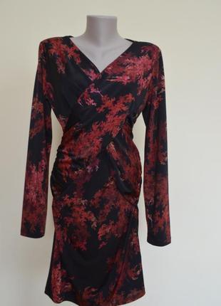 Французское трикотажное платье