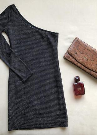 Платье zara на одно плечо