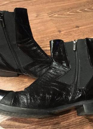 Мужские кожаные монки лоферы оксфорды туфли ботинки fabi