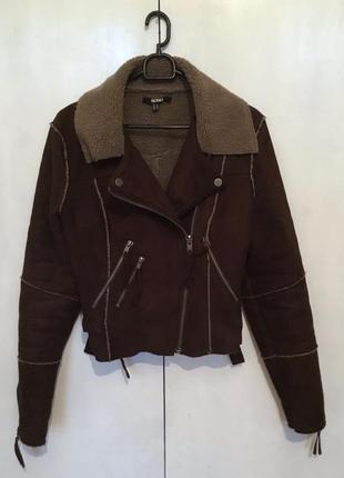 Куртка косуха дубленка