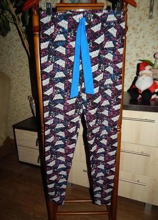 Домашние штанишки лосины пижама