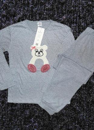 Пижама женская одежда для дома мишка