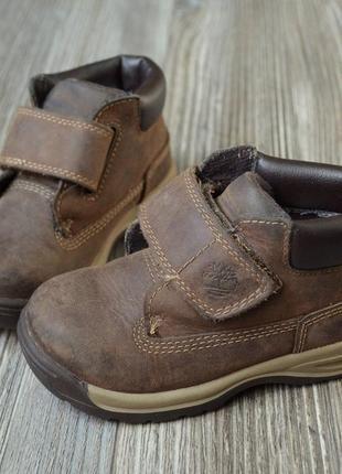 Ботинки полусапоги кожа timberland кожа (23)