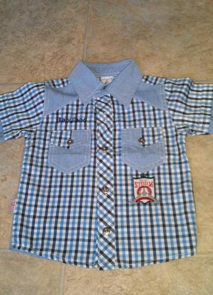 Новая рубашка для мальчика 2 лет