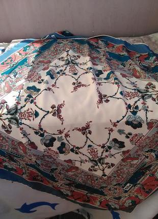 Шикарный шёлковый платок турция