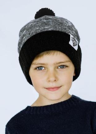 Зимова шапка для хлопчика гасан. dembohouse 148c63d3d9e5b