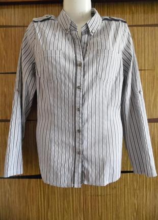 Блуза рубашка, новая next размер 18 – идет на 50-52.