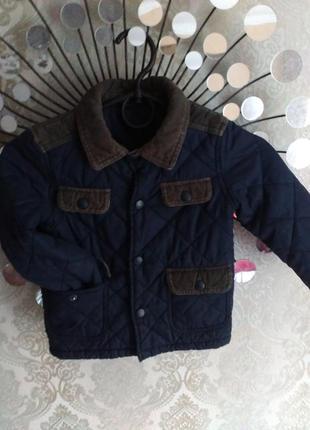 Деми куртка на флисе 1-1.5г
