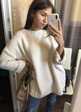 Новый свитер оверсайз bershka