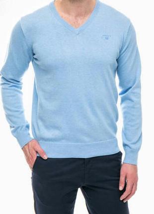 Мужской пуловер#gant # 100% хлопок