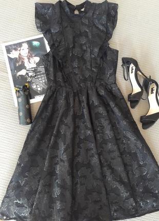 Шикарное вечернее платье с красивой спинкой от h&m размер s