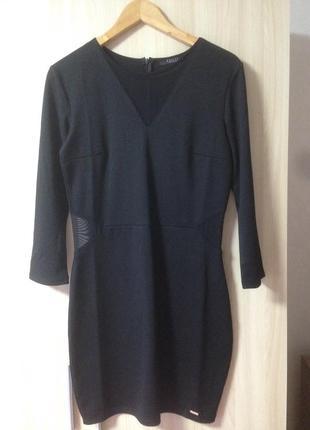 Платье со вставками сетки mohito