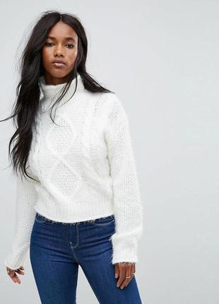Тёплый вязаный свитер asos