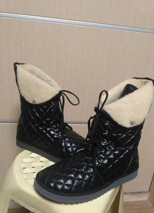 Сапоги ботинки дутики инблу inblu.  р. 37, 38, 41
