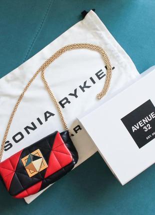 Sonia rykiel сумка сумочка клатч кроссбоди через плече