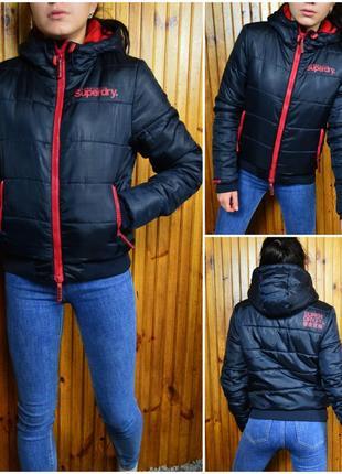 Тёплая куртка  superdry
