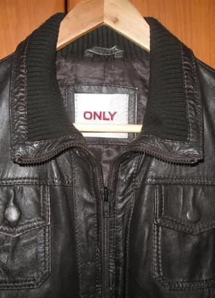 Куртка из мягкой тонкой кожи