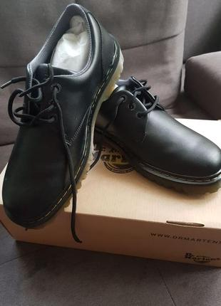 Мужские  ботинки dr martens, кожа, 45 размер (11)
