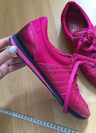Кожаные кроссовки ботинки salvatore ferragamo