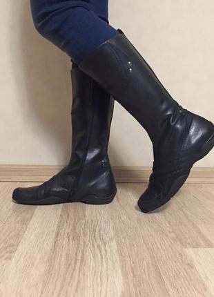 Сапоги кожаные утеплённые air step 40 размер