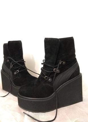 Замшевые ботинки miraton attizzare