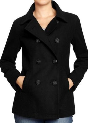Коротке тепле пальто