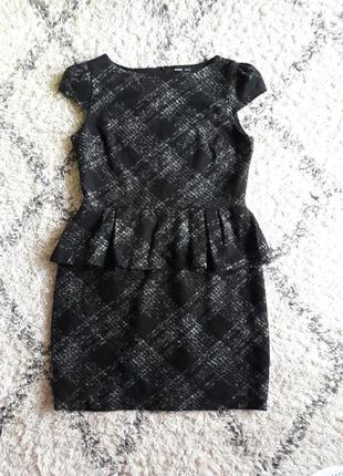 Теплое стильное платье mango xl