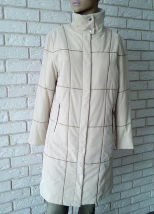 Актуальный базовый осенний  плащь-пальто