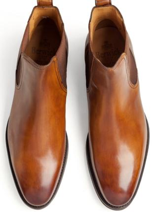 Кожаные ботинки челси испанского бренда berwick