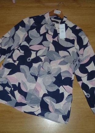 Яркая фирменная рубашка от marks&spencer для вас