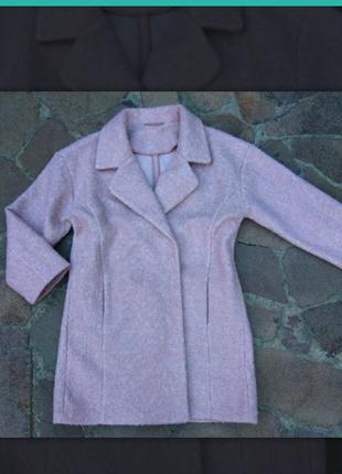 Нежное буклированное пальто f&f